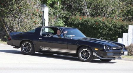 Matthew McConaughey in his 1981 Camaro Z28 with 5.7-litre V8 engine.