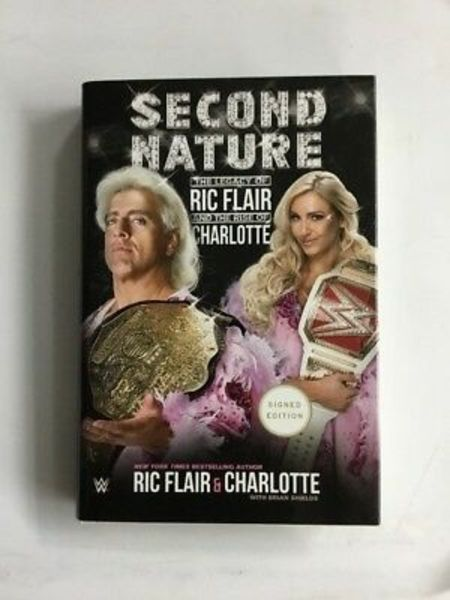 Charlotte Flair and Rick Flair's joint biography 'Second Nature: The Legacy of Ric Flair and the Rise of Charlotte'.