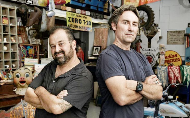 Frank Fritz starred in 'American Pickers' with Mike Wolfe.