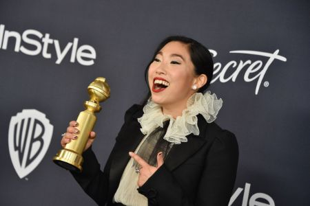 Awkwafina won a Golden Globe Award for her lead role in comedy-drama 'The Farewell' in 2019.