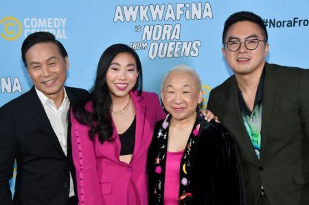 The 'Awkwafina is Nora From Queens' cast.