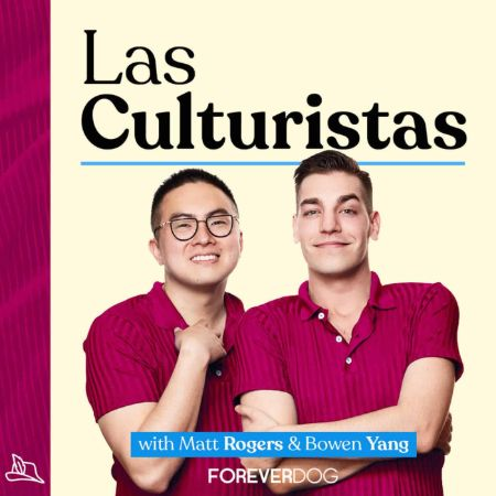 Bowen Yang and Matt Rogers co-host the podcast 'Las Culturistas.'