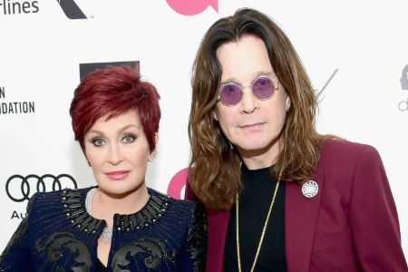 ozzy and sharon on the red carpet