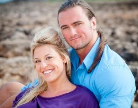 Drew McIntyre was previously married to Taryn Terrell.