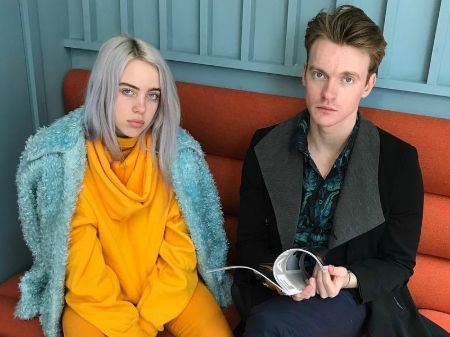 Billie Eilish and her brother Finneas O'Connell.