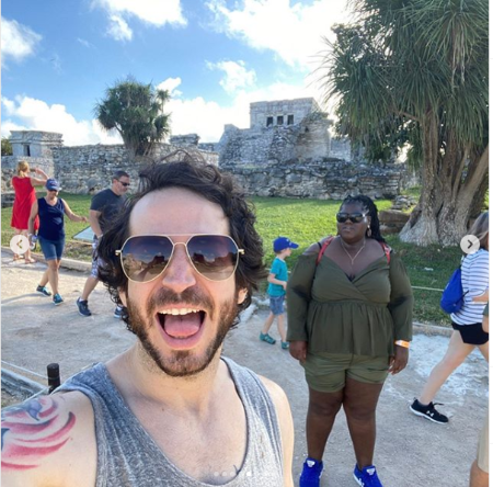 Gabourey and Brandon went to Mexico for his Birthday.