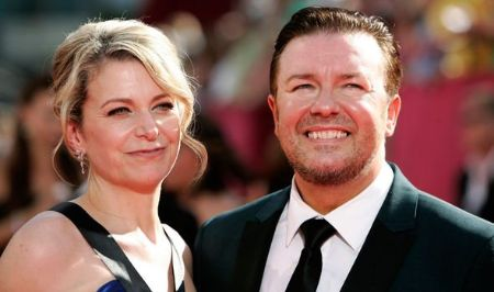 Ricky Gervais is in relationship with his longtime girlfriend Jane Fallon.