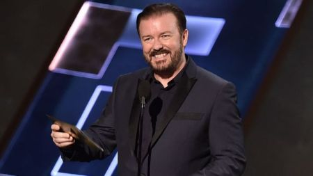 Ricky Gervais created, wrote and acted in British Television Series 'The Office.'