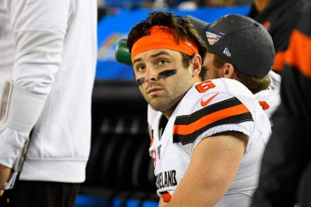 A fan of Baker Mayfield made claims that the quarterback cheated on his wife Emily, with her in August 2019.
