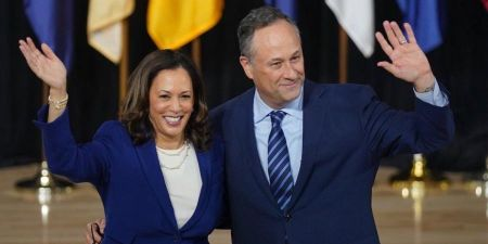 Kamala Harris and Douglas Emhoff married in 2014.