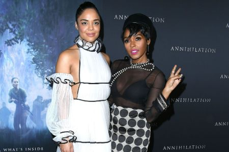Janelle Monáe has been in an on-and-off relationship with actress, producer, and singer Tessa Thompson.