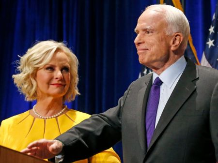 Meghan McCain's father John McCain and mother Cindy McCain shared a tremendous wealth of over $200 million.