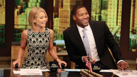 Kelly Ripa's remained fit and slim all her adult years.