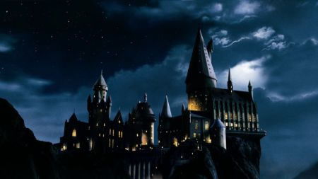 Harry Potter's fantasy magic school, 'Hogwarts.'
