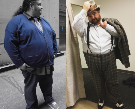 Jorge underwent 30 pounds of weight loss in 2006.