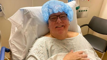 Tom Skilling lost 50 pounds of weight after undergoing weight loss surgery.