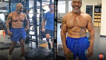 Mike Tyson underwent a rigorous fitness and diet routine.