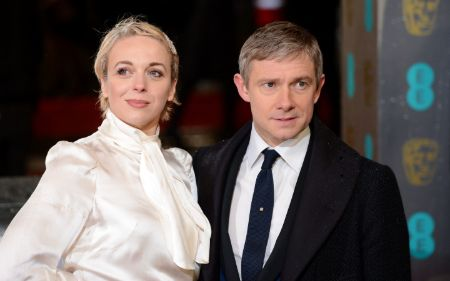 Martin Freeman used to be in a long-term relationship with fellow actress Amanda Abbington.