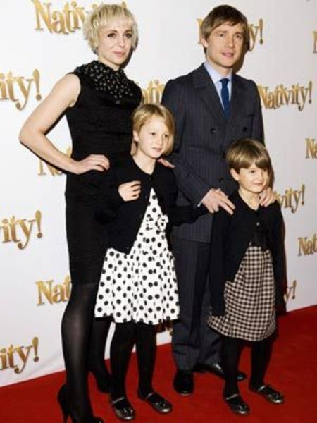 Martin Freeman and his ex-partner Amanda Abbington share two children.