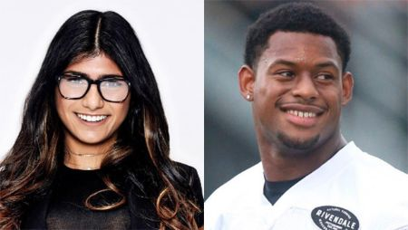 In 2017, Juju Smith-Schuster was rumored to be dating Mia Khalifa.