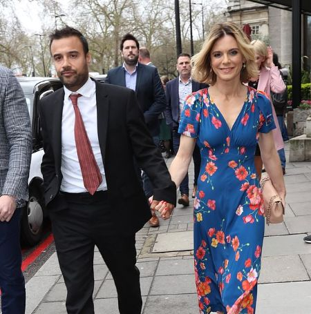 Emilia Fox and her ex-fiancé were together for 18 months.