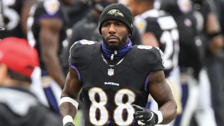 Dez Bryant's been playing for Baltimore Ravens since November 2020.