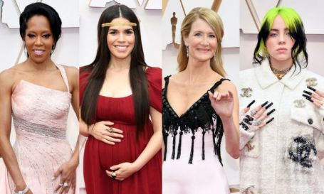 guests on the oscars 2020 red carpet