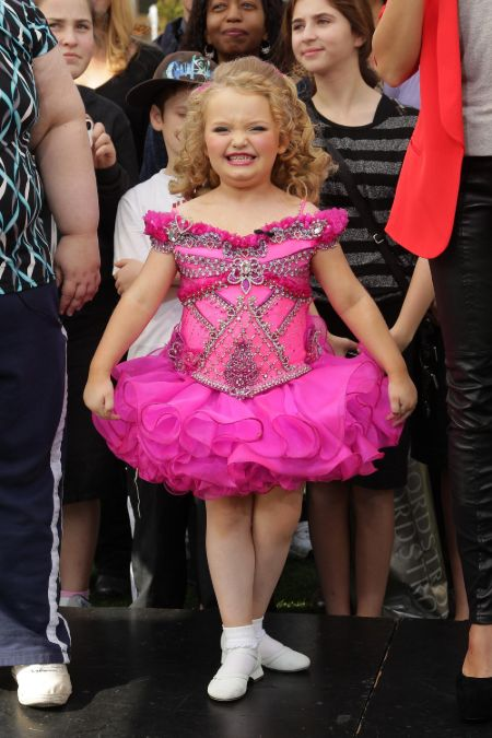 Alana Thompson known as Honey Boo Boo was famous from the reality series 'Here Comes Honey Boo Boo.'
