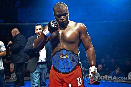 Derrick Lewis won Legacy FC Heavyweight Championship one time.
