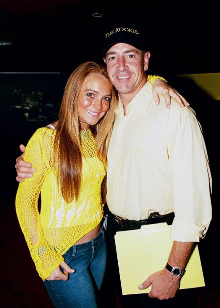 Michael Lohan is the father of the actress Lindsay Lohan.
