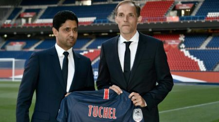 Thomas Tuchel was made PSG manager in 2018 on a two-year contract.