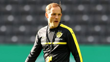 Thomas Tuchel managed Borussia Dortmund from 2015 to 2017.