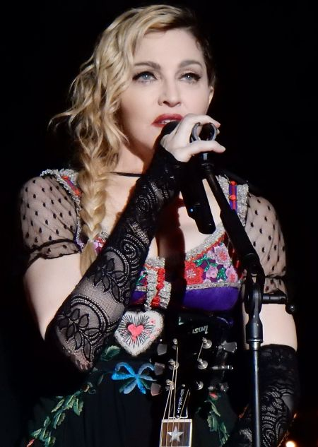 Susannah Melvoin co-wrote a song performed by Madonna.