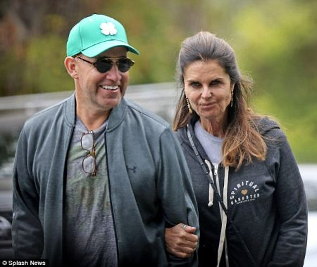 Maria Shriver is currently in relationship with her boyfriend, Matthew Dowd.