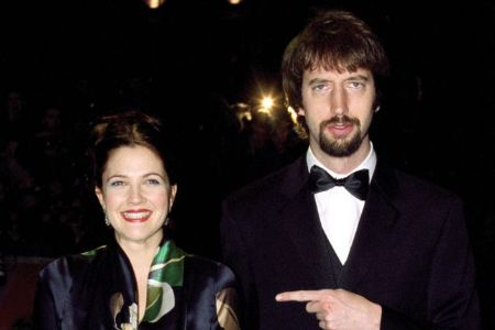 Drew Barrymore was married to Tom Green from 2001 to 2002.