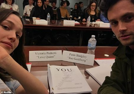 victoria and penn reading the You script