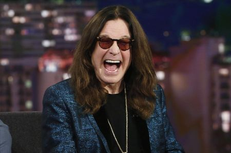 Ozzy Osbourne is a lead metal singer of the band 'Black Sabbath.'