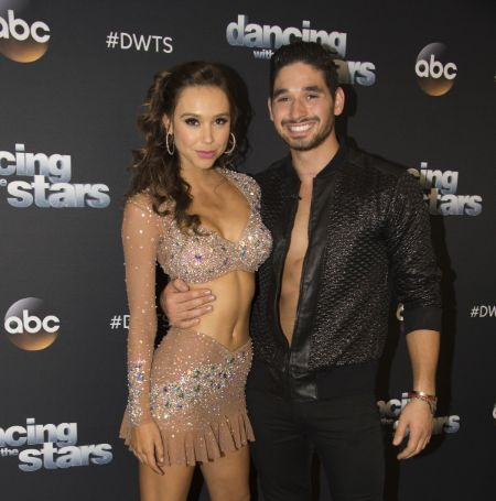 Alexis Ren had paired up with Alan Bersten in 'Dancing with the Stars.'