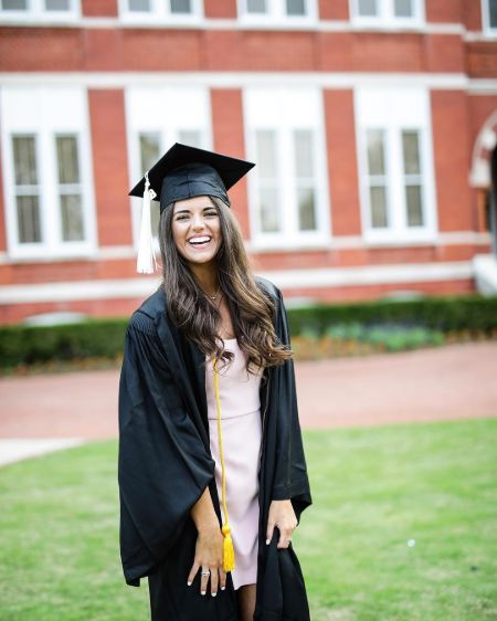 Madison Prewett completed her graduation from the Auburn University.