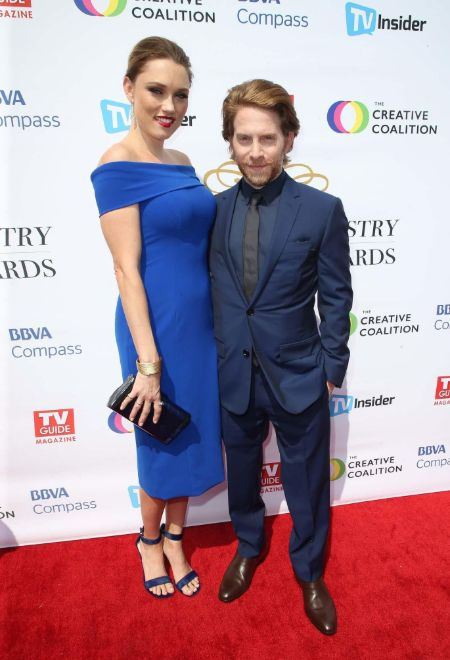 Seth Green and Clare Grant first met at a comic book store.