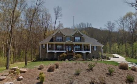 Maci Bookout's massive mansion at Tennessee.