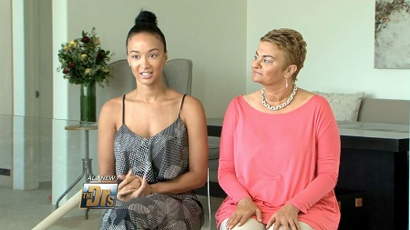 Draya Michele and her mother Valerie.