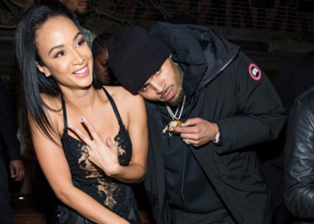 Draya Michele and Chris Brown dated in 2011.