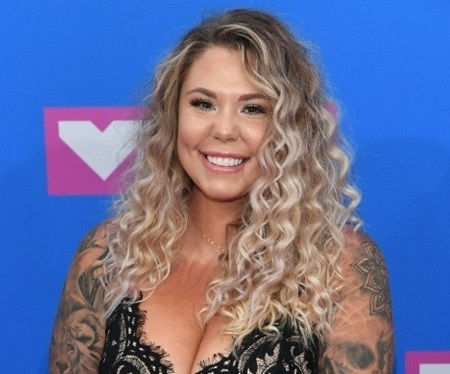 Kailyn Lowry during an appearance at 'The Domenick Nati Show'.