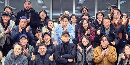 The entire cast of the Netflix Drama, 'Kingdom'.