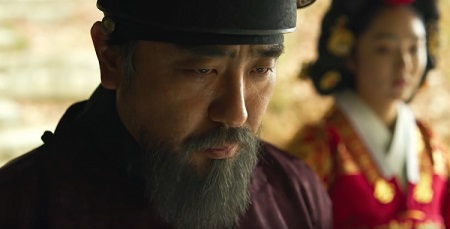 Ryu Seung Ryong in his character on 'Kingdom'.