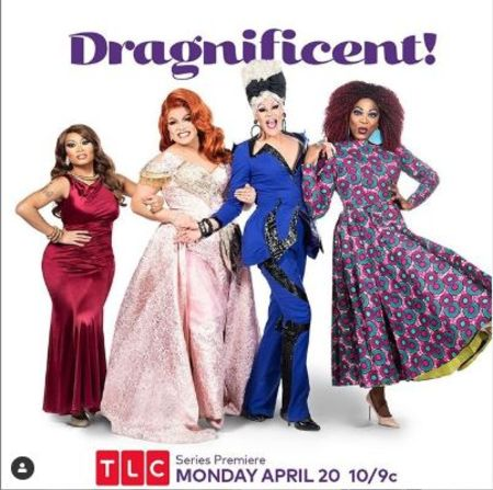 The wallpaper of  TLC's Dragnificent set to air on April 20, 2020.