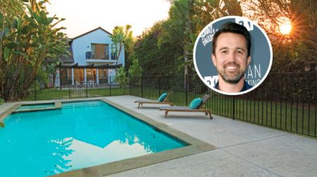 robs home with a big backyard and swimming pool
