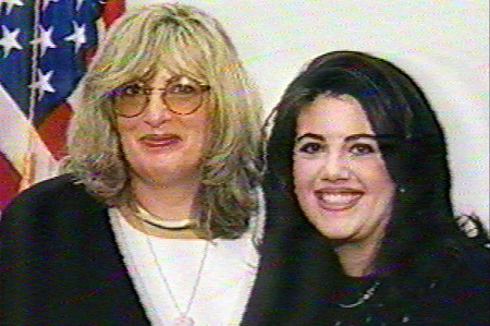 Linda Tripp and Monica Lewinsky in 1997.
