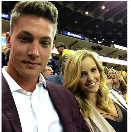 Elle Bielfeldt and Meyers Leonard first met in their college days.